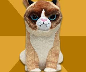 Grumpy Cat Plushie