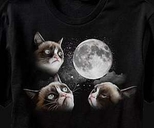Grumpy Cat Three Moon Shirt