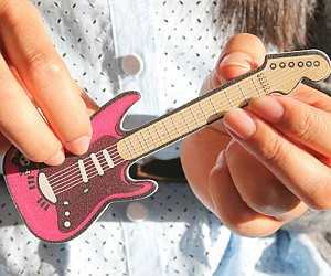Guitar Shaped Nail File