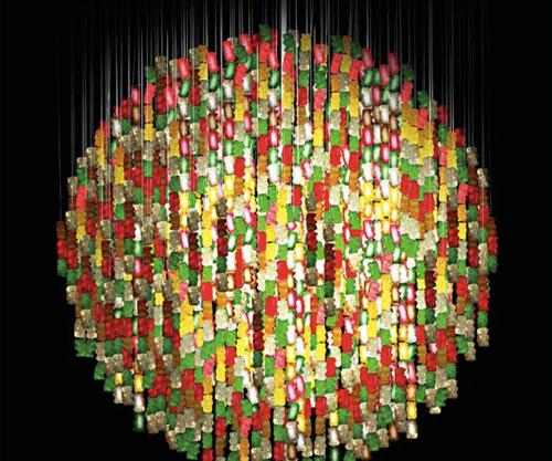 Gummy bear chandelier aloadofball Images