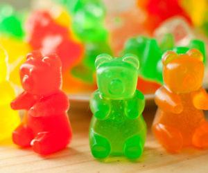 gummy bear shaped soap