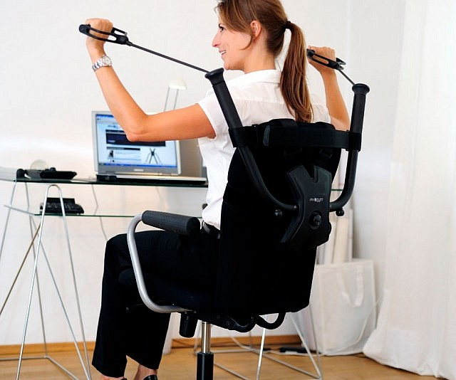 chair workout device
