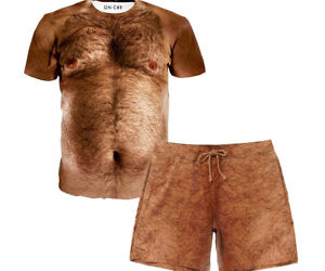 Hairy Chest Outfit
