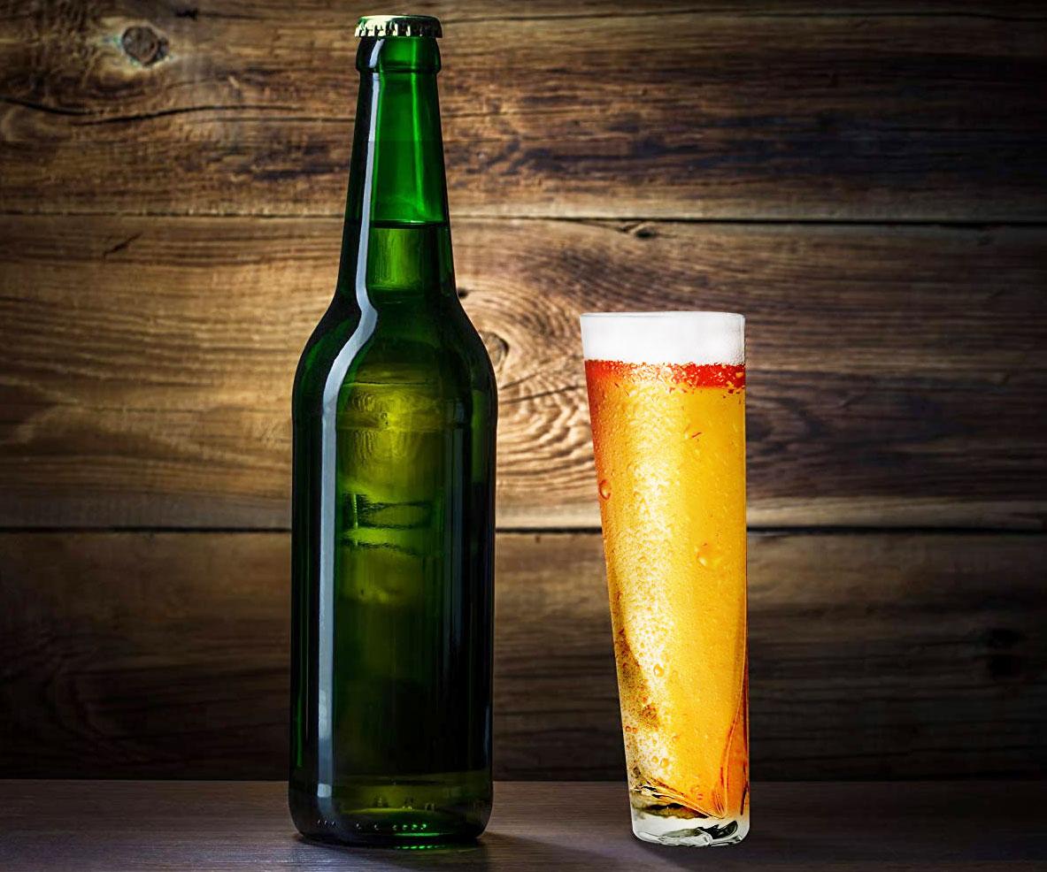 xHalf Pint Beer Glass