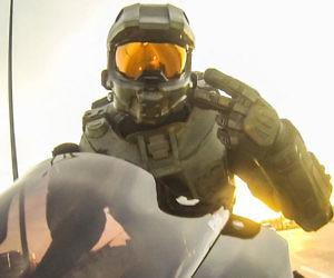 Halo Master Chief Motorcyc...