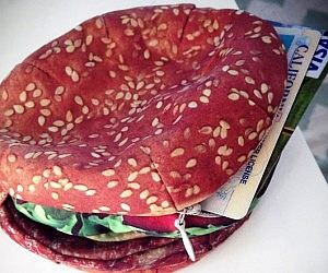 Spectacular Hamburger Wallet