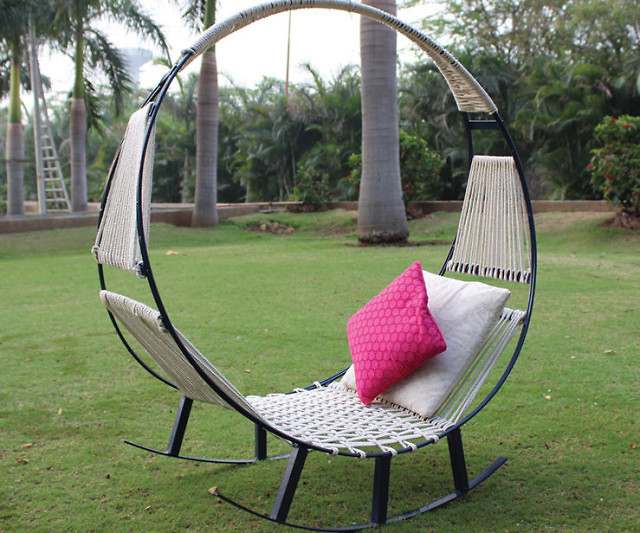 Medium image of hammock rocking chair