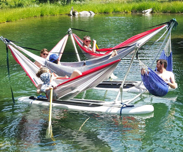 floating hammock frames