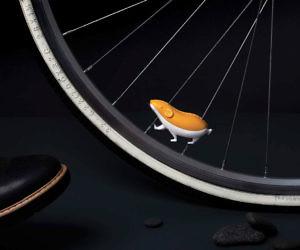 Reflective Hamster Bike Sp...