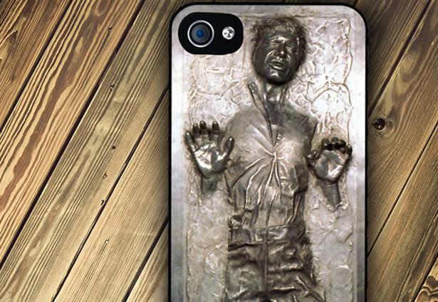 new styles 14a57 c5178 Han Solo Frozen iPhone Case