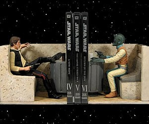 Han Shot First Bookends