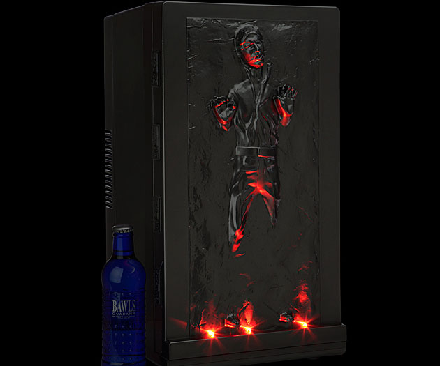 Han Solo Mini Fridge
