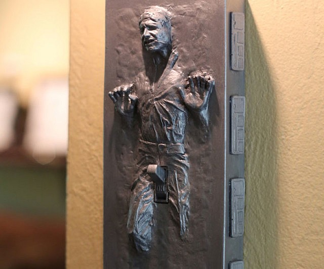 the latest dacf3 36117 Han Solo Frozen Light Switch Cover