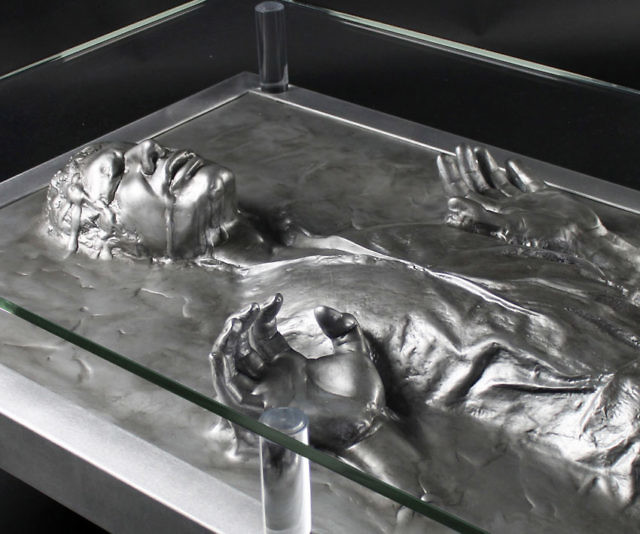 solo carbonite coffee table
