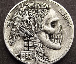 Hand Carved Nickels