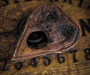 Hand Sculpted Ouija Board