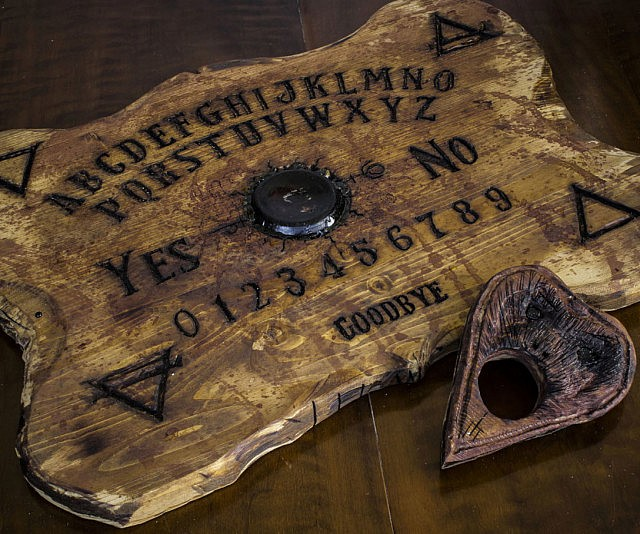 sculpted ouija board