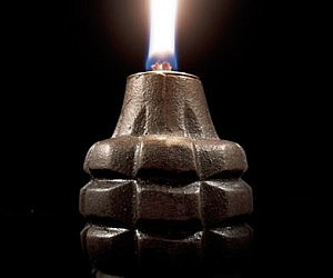 Grenade Oil Lamp