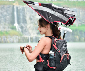 Retractable Umbrella Backp...