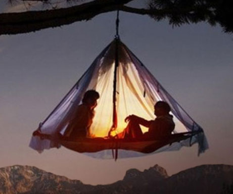 Hanging Tent Platform & Tent Platform