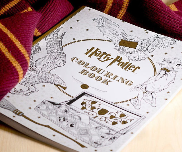 - Harry Potter Coloring Book