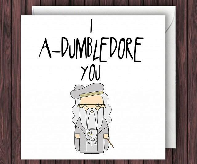 Harry Potter Valentineu0027s Day Card