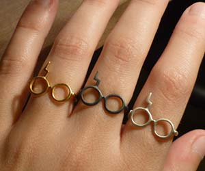 Harry Potter Glasses Rings