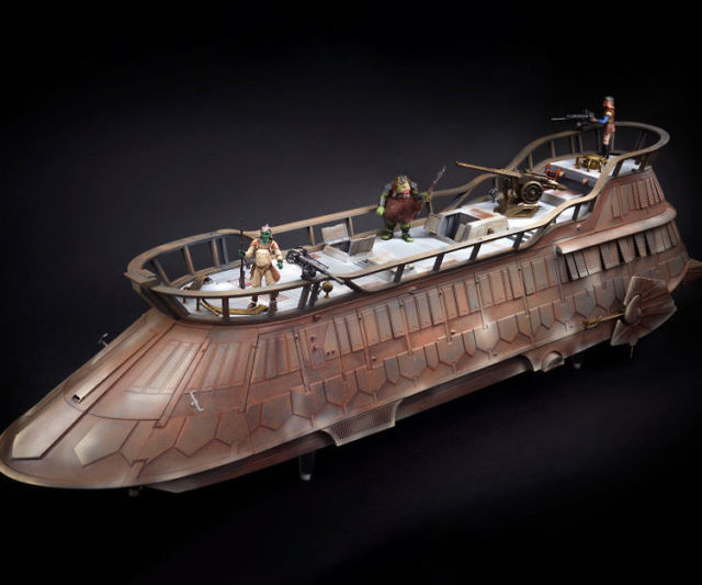 Vintage Star Wars Jabba Sail Barge