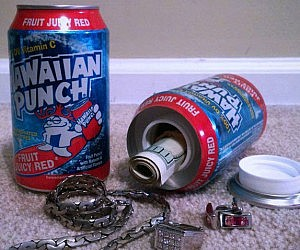 Hawaiian Punch Stash Can