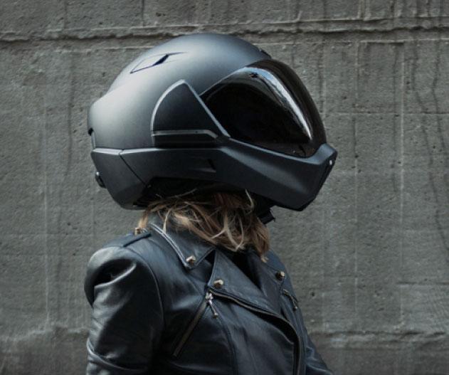 headsup display motorcycle helmet