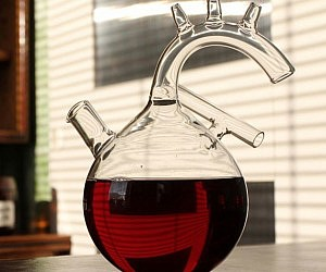 Heart Shaped Decanter