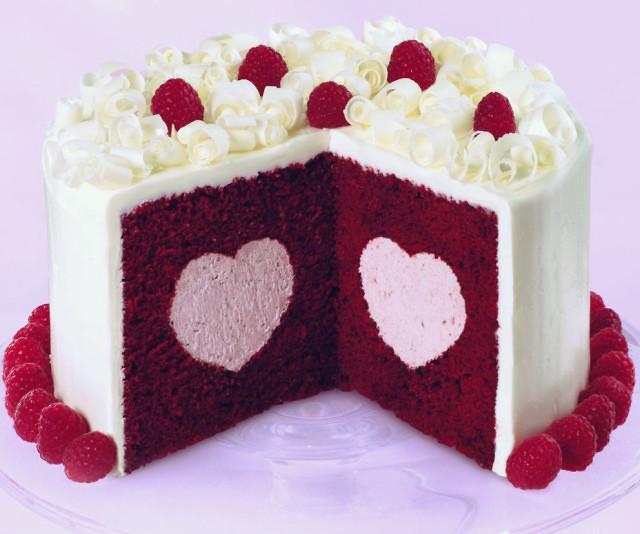 Heart Filled Cake Pan Set