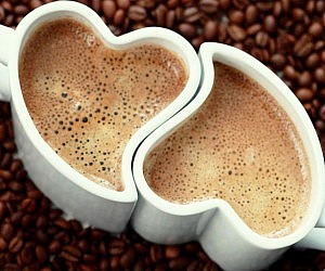 Heart Shaped Coffee Mugs