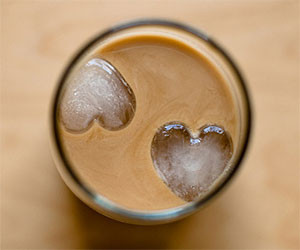 Heart Shaped Ice Cubes