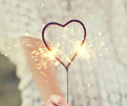 Heart Shaped Wedding Sparklers | Wedding Day Sparklers