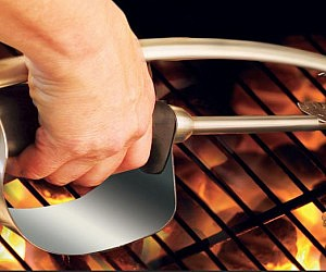 Heat Shield BBQ Tongs