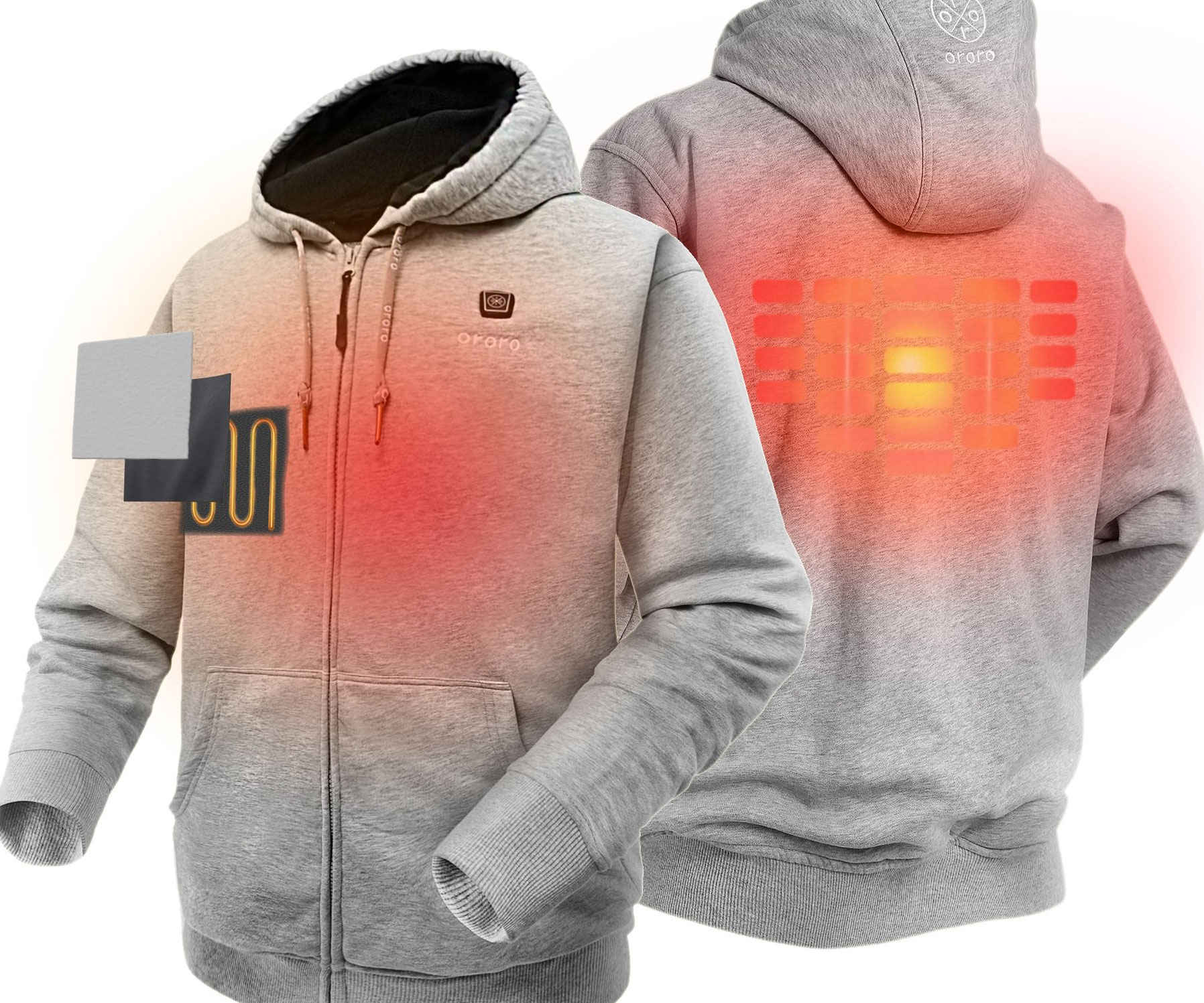 Heated Hoodie - coolthings.us