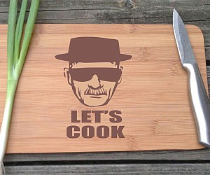 Heisenberg Cutting Board