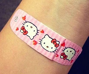 Amazing Hello Kitty Band Aids