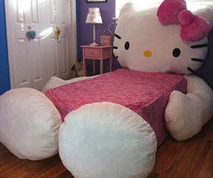 Hello Kitty Bed Part 91
