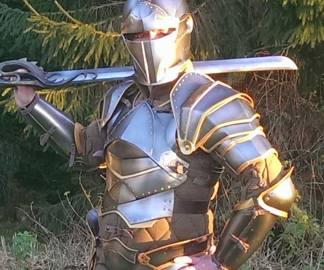heroic knight s armor