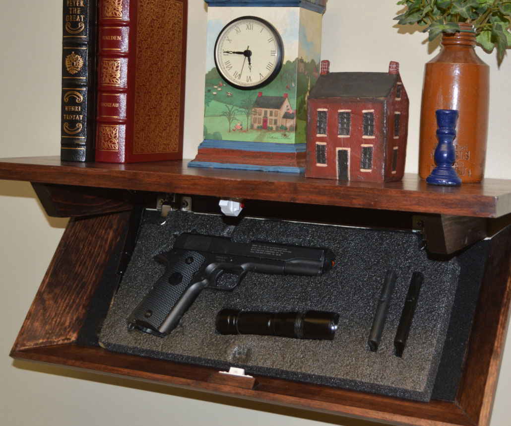 Hidden Compartment Shelf