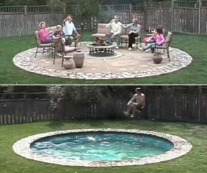 Wonderful Hidden Patio Pool