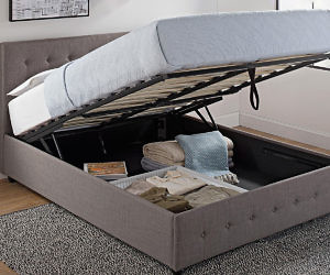 Amazing Hidden Storage Compartment Bed