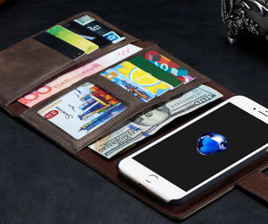 High Capacity iPhone Wallet