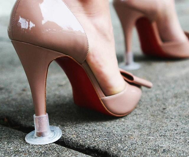 erotic heel Her experience high