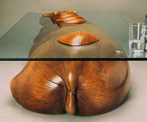 Animal Coffee Tables - Hippo coffee table