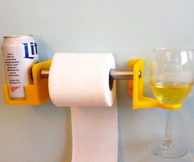 His Hers Toiler Paper Cup Holders