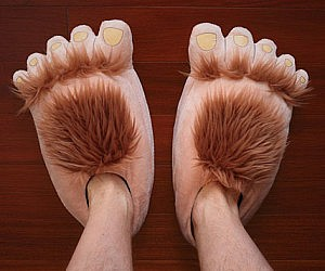 Hobbit's Feet Slippers