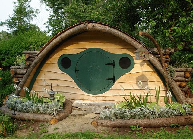 Hobbit Hole House home